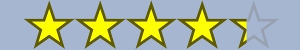 4.3 Stars!
