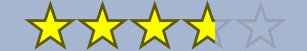 3.75 Stars!
